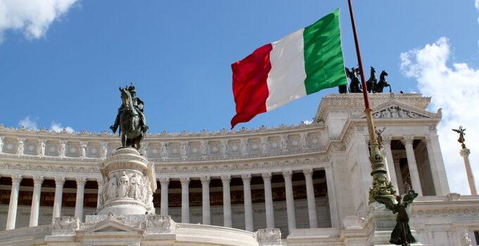 Aktier i knæ i Italien
